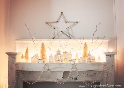 DIY-Lighted-Christmas-Village