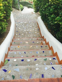Stunning steps at our hotel